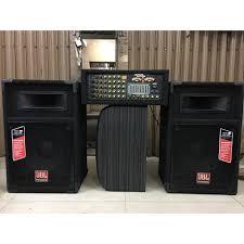 Dàn âm thanh, hát karaoke loa sân khấu JBL và amply bọc NỈ công suất lớn  chơi ngoài trời