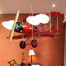 kids lighting ceiling. Classic Red Painting Airplane Ceiling Light Fixture For Kids Throughout Prepare 2 Lighting