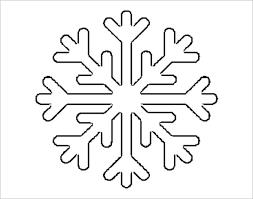 Free Snowflake Templates 17 Free Printable Sample Example Format