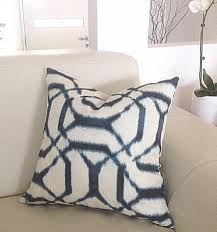 cushions pillows blue cushion covers jepeto denim shibori style