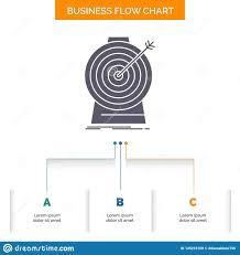 Aim Focus Goal Target Targeting Business Flow Chart