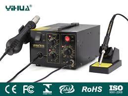 Ремонтные <b>паяльные станции YIHUA-852D</b> | YiHua
