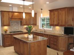 Rustic Kitchen Light Fixtures Oak Amazing 10x10 Kitchen Designs With Island And Also 10x10 L