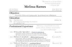 Work Experience Resume Examples Of Resumes With No Job Experience ...