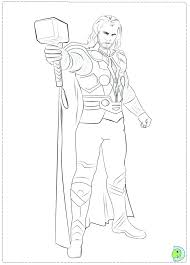 Small Picture thor coloring pages vonsurroquen