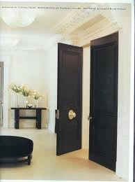 black doors with br pretty white walls center door pivot gl hardware