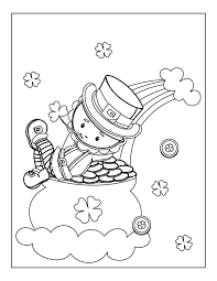 I really wanted to find some free st. Free Printable St Patrick S Day Coloring Pages Oh My Creative