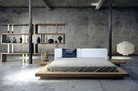 Modern Low Bed Frame Modern Low Profile Bed Modern Queen Bed Frame ...