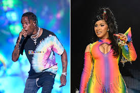 Report Travis Scott Isnt Upset With Cardi B For Winning