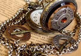 steampunk pocket watch necklace men women pocket watch unisex pocket watch gothic locket necklace vintage style 🔎zoom