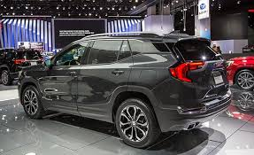 2018 gmc terrain black. exellent black a turbocharged 20liter four is the stepup engine although its 252  horsepower and 260 lbft of torque fall short 301 272  with 2018 gmc terrain black