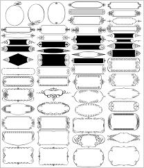 飾り罫素材集 Handy Art カザリ罫 2イラストレーターillustrator