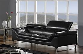 modern leather sofas. Image Of: Contemporary Leather Furniture Black Modern Sofas
