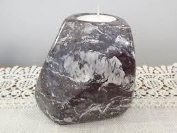 Rock Tea Light Holder Combarbalita Volcanic Rock Tealight Holder Volcanic Stone