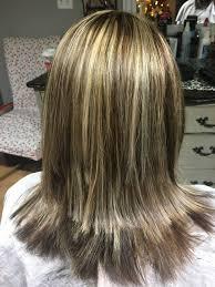 Blonde Highlights With Dark And Medium