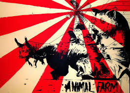 orwells intention in writing animal farm george orwell s works animal farm the great divide george orwell s works animal farm the great divide