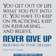 Quotes About Not Giving Up On Your Dreams Best of Quotes About Believing Dreams 24 Quotes
