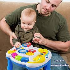 HOMOFY Baby Toys Musical Learning Table 6 Months up-Early Education ...