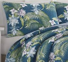 tommy bahama bedspreads. King Size 3-PC Tropical Exotic Floral Teal Blue Quilt Set Tommy Bahama Bedding Bedspreads A