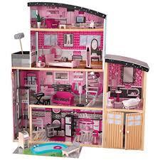 wooden barbie doll house furniture. KidKraft Sparkle Mansion Wooden Barbie Doll House Furniture T
