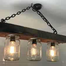 ironware lighting. Glass Jar Lighting. Mason Chandelier Lighting A Ironware