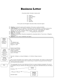 Best Photos Of Basic Business Letter Sample Modified