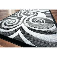 swirl area rug circle swirls area rug modern rug silver swirls grey black stripes cool color swirl area rug