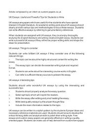 Custom Uk Essays Essay Best Essay Writing Services December 2018