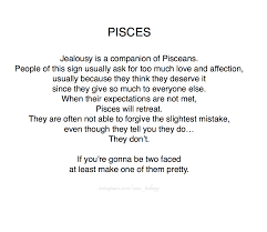 Starstrology Pisces Jealousy Ft Their Sassy Personality Quote