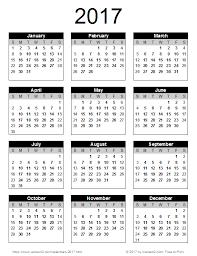 year calender year