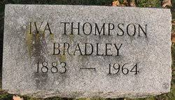 Iva Hendershott Thompson Bradley (1883-1964) - Find A Grave Memorial