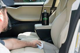 how to care for leather car seats