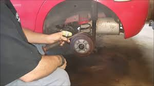 chevy aveo stuck rear brakes (how to) - YouTube