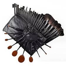 34 piece ultimate studio makeup brush set super soft cosmetics foundation blending blush eyeliner
