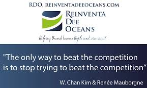 Quotes About Ocean New The Only Way To Beat The Competition Is To Stop Trying To Beat The