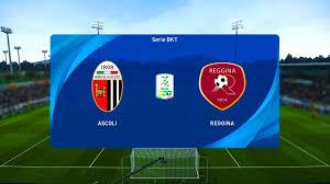 Ascoli vs Reggina - Serie B [04/01/2021] - PES 2021 - YouTube
