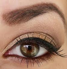 easy brown eye makeup photo 1