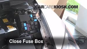 replace a fuse 2007 2012 mazda cx 7 2008 mazda cx 7 sport 2 3l 6 replace cover secure the cover and test component 7