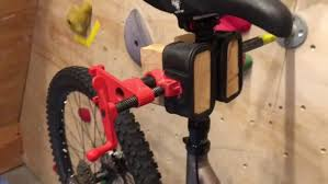 diy wood bike repair stand home bicycle