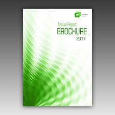 Pamphlet Template Free Green Brochure Template Psd File Free Download
