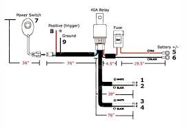 how to install offroad led light bar w relay & switch 7 steps Off Road Light Wiring Diagram With Relay step 1 before you get started, you can refer to this wiring map so you have a point of reference the following numbers correspond to their respective off road light wiring diagram without relay