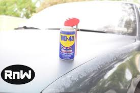 how to remove scratches from your car wd 40 test