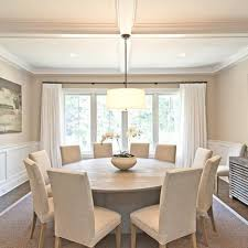 15 stunning round dining room tables dinning table conversation inside for 10 design 0