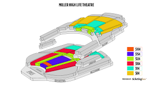 Milwaukee Miller High Life Theatre Seating Chart English