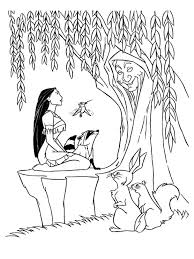 Small Picture Pocahontas coloring pages Download and print Pocahontas coloring