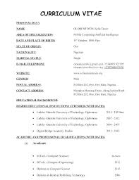 Latest Resume Format Amazing Most Current Resume Format Latest Format Resume Latest Resume Format