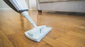 a steam mop on laminate flooring