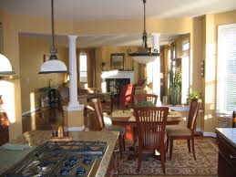 kitchen rug under dining table