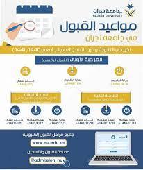 جامعة نجران تعلن مواعيد قبول خريجي الثانوية العامة - المدينة
