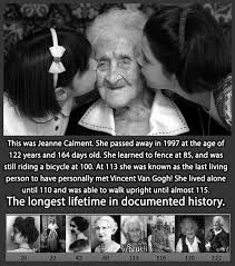 Diply Facts - The Long Life Of Jeanne Calment... #omg #amazing | Facebook